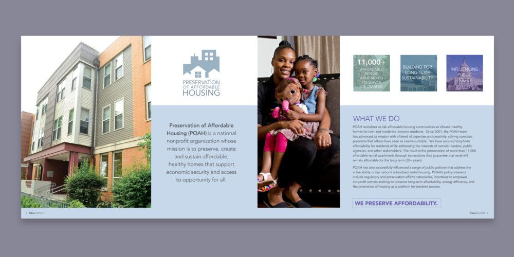 Corporate brochure, POAH